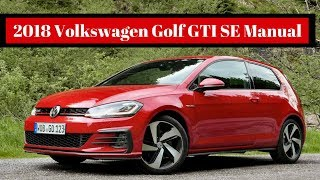 VERY GOOD!! 2018 Volkswagen Golf GTI SE Manual