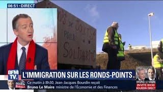 """ÉDITO - Gilets jaunes: """"La France de l'immigration absente des ronds-points"""""""