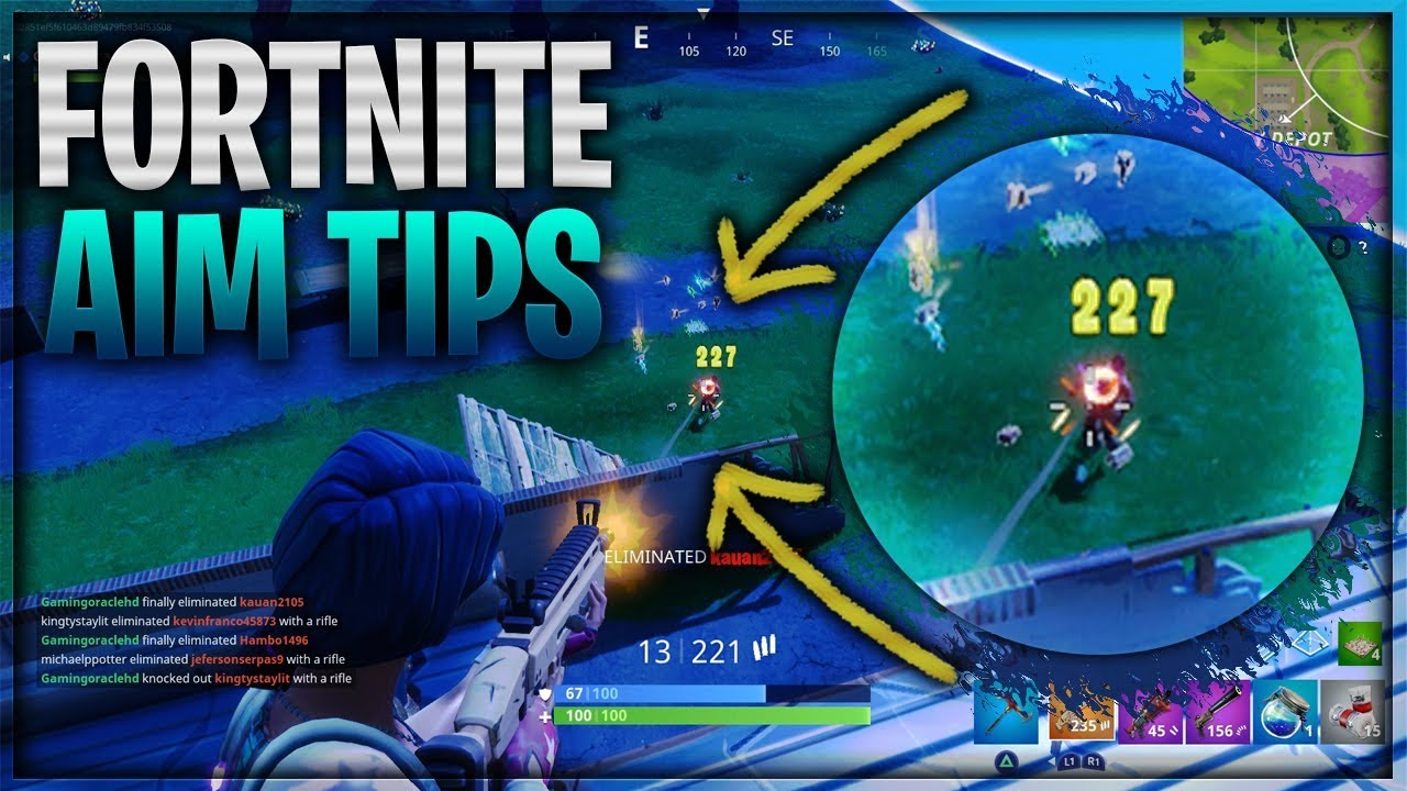 fortnite aiming tips tricks how to aim better in fortnite ps4 xbox one fortnite aiming guide - fortnite aim assist ps4 tips