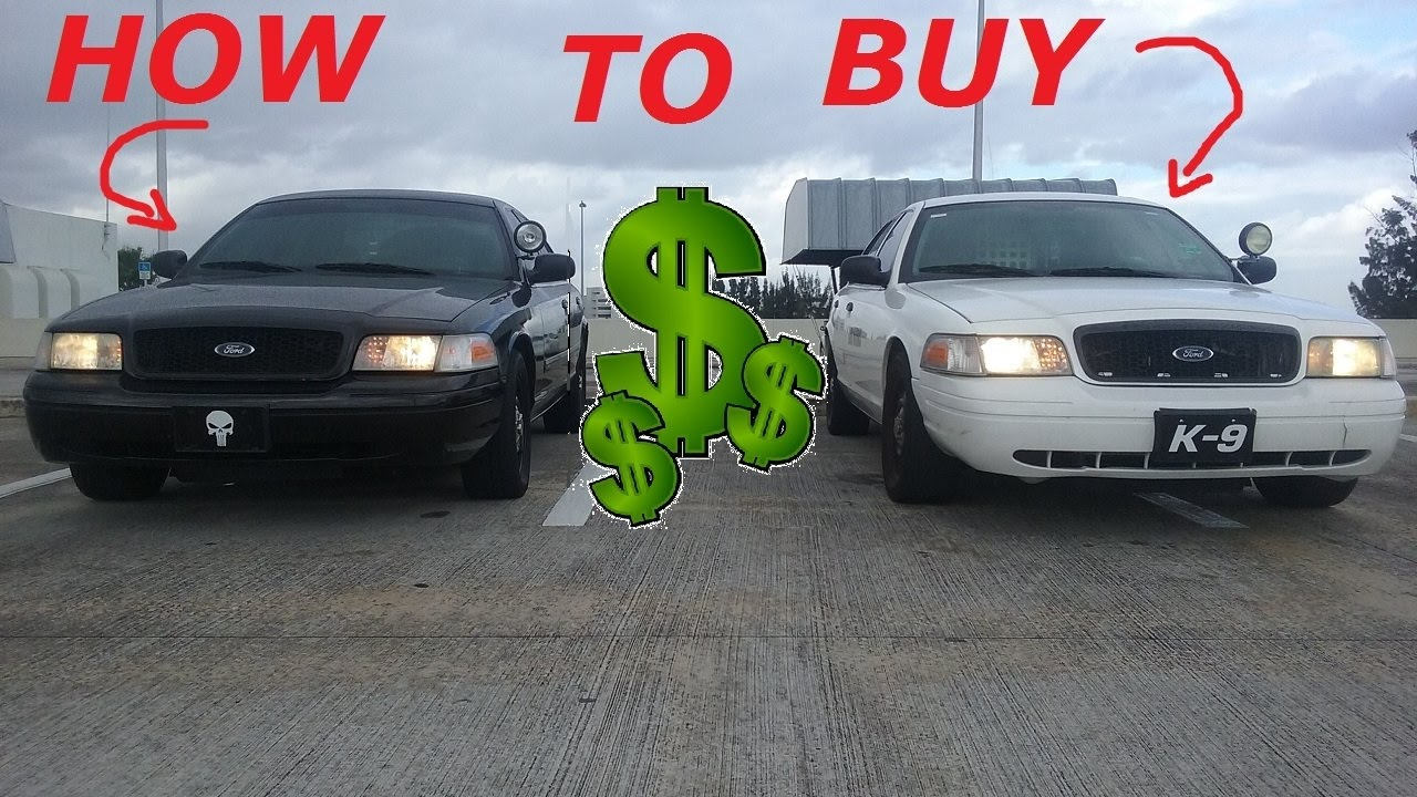 Used Cop Cars For Sale >> How To Buy A Used Cop Car P71 Youtube