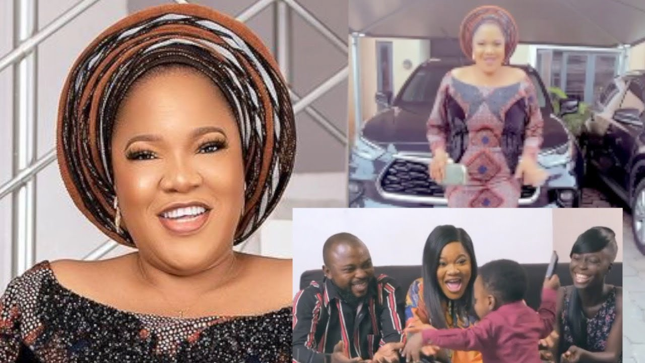 Download Toyin Abraham & Her Husband Begin The Massive Celebration Of Her Son, Ire Becoming The Richest &...