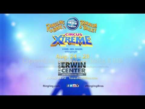 Ringling Bros. and Barnum & Bailey Presents Circus XTREME :15