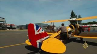 هذا الصباح- رالي لسباق الطائرات القديمة