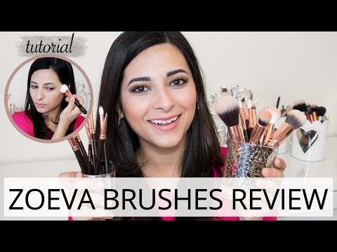 Zoeva Rose Gold Brushes (Review & Demo)   Le Beauty Girl