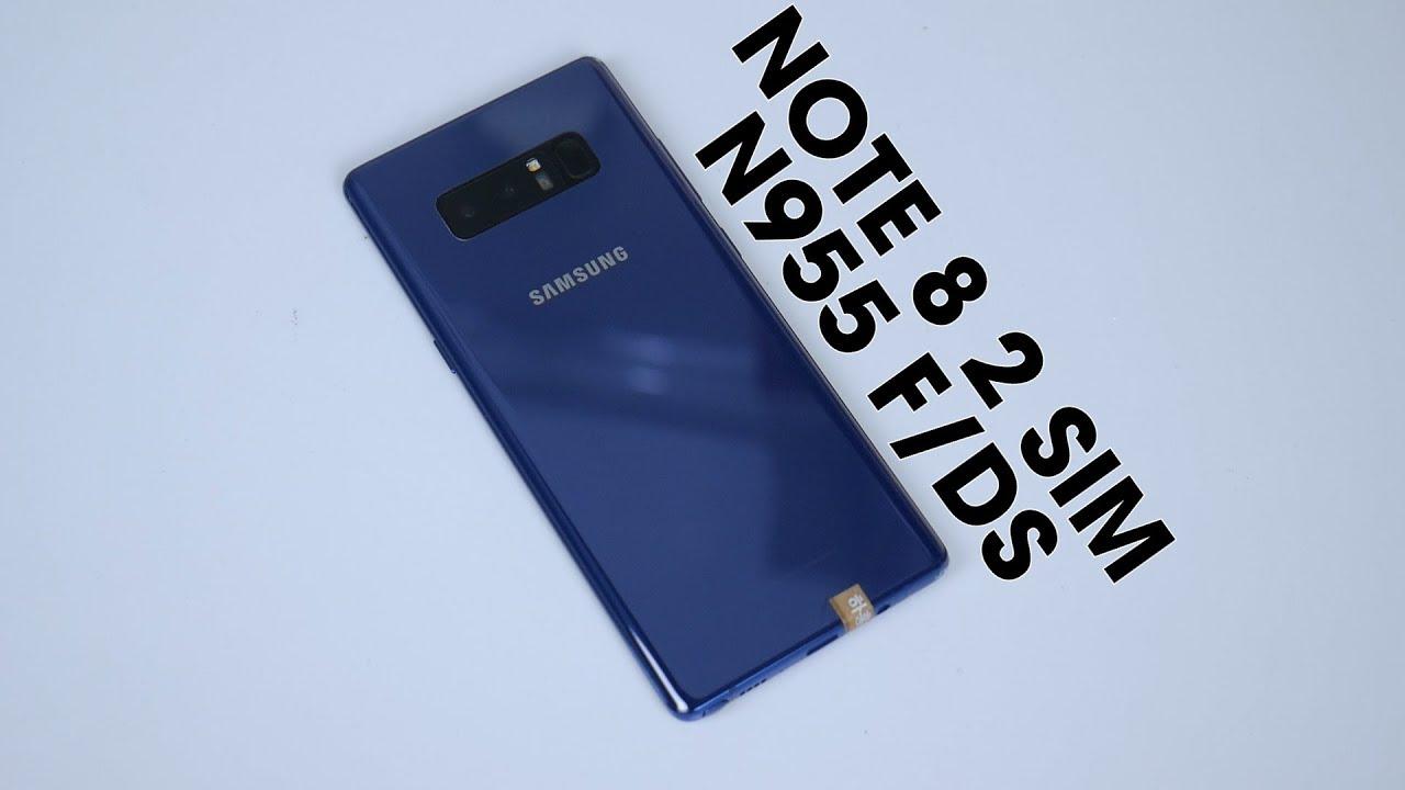 Note 8 cũ 2 sim liệu có tiện hơn Note 8 Hàn?