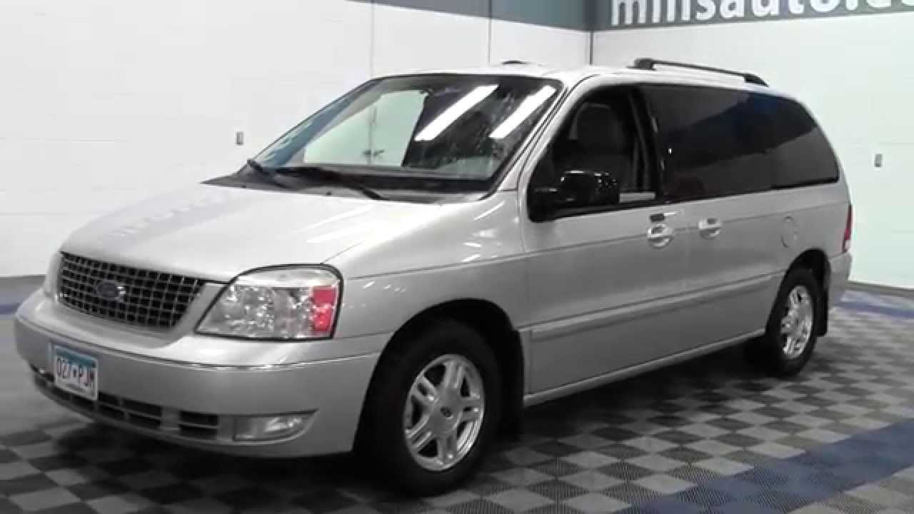 2007 ford freestar sel 1f140763a youtube