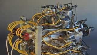 14 cylinder double row radial engine doppelstern motor 14 zylinder diashow