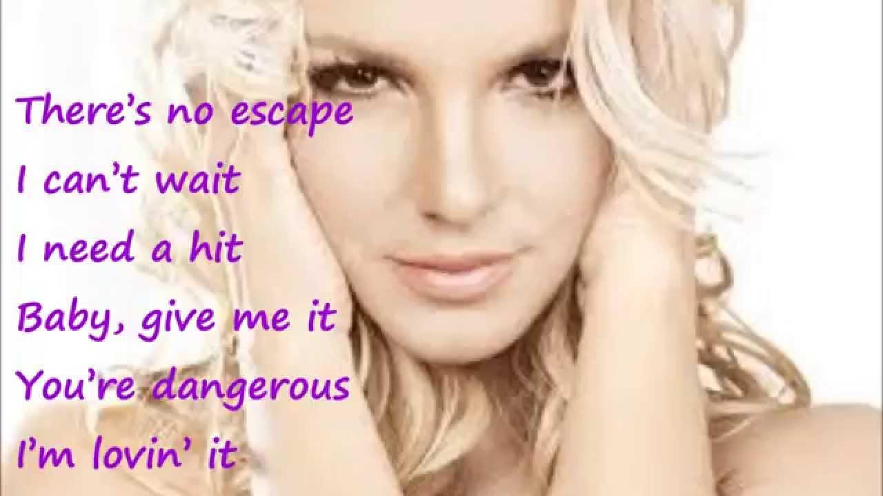 Britney Spears - Toxic (Lyrics) - YouTube
