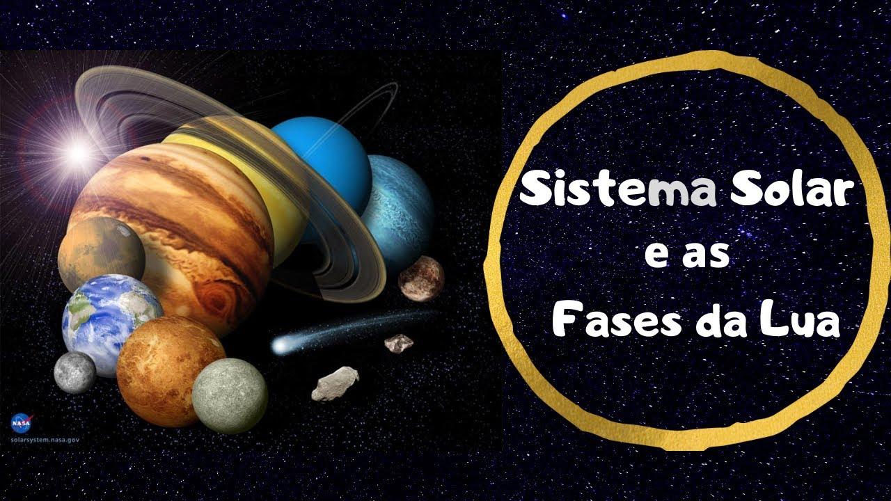 Sistema Solar e as fases da Lua - Estudo do Meio 1º ciclo - O Troll explica...