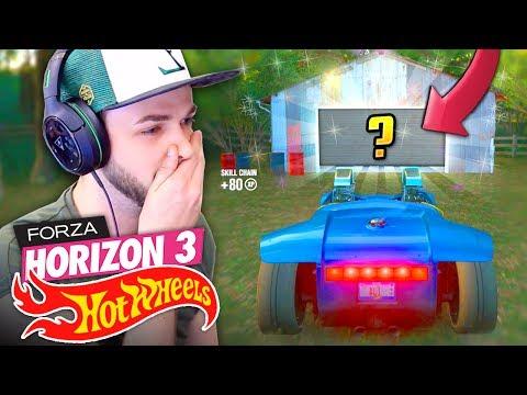 WE FOUND A SECRET CAR...! 🚗💨 - Forza Horizon 3 (HOT WHEELS DLC)