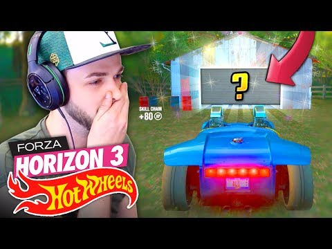 WE FOUND A SECRET CAR...! 🚗💨 - Forza Horizon 3 (HOT WHEELS DLC) thumbnail
