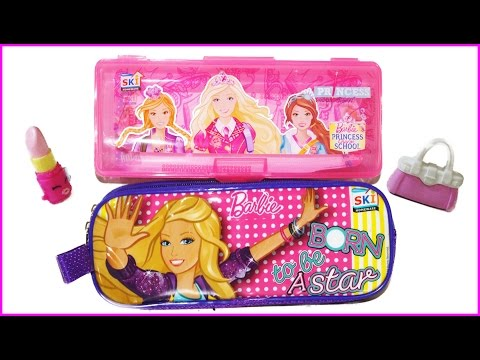 Surprise Barbie Bag And Stationary Pencil Box | Toys For Kid