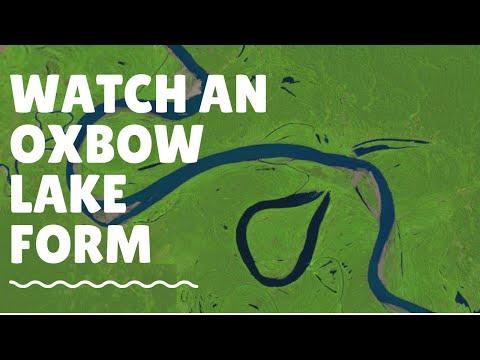 Watch An Oxbow Lake Form: Ucayali River: 1985 - 2013