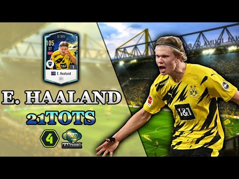 """Review E. Haaland 21TOTS FO4 - """"Quái vật"""" Na Uy 