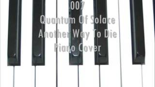 Quantum Of Solace Piano Cover