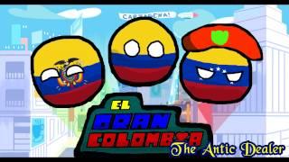 Polandball Drawing: El Gran Colombia (SAI remake)
