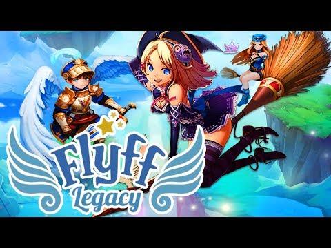FLYFF LEGACY MMORPG FR – BIENVENUE DANS LE MONDE FEERIQUE DE FLYFF [ANDROID & IOS]