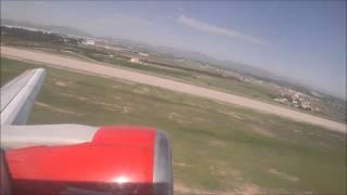Palma de mallorca to Edinburgh Airport B737-300 Jet2.com 18/10/2015