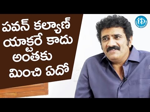 Pawan Kalyan Is Not Just An Actor - Rao Ramesh @ Rao Ramesh Interview || #Katamarayudu