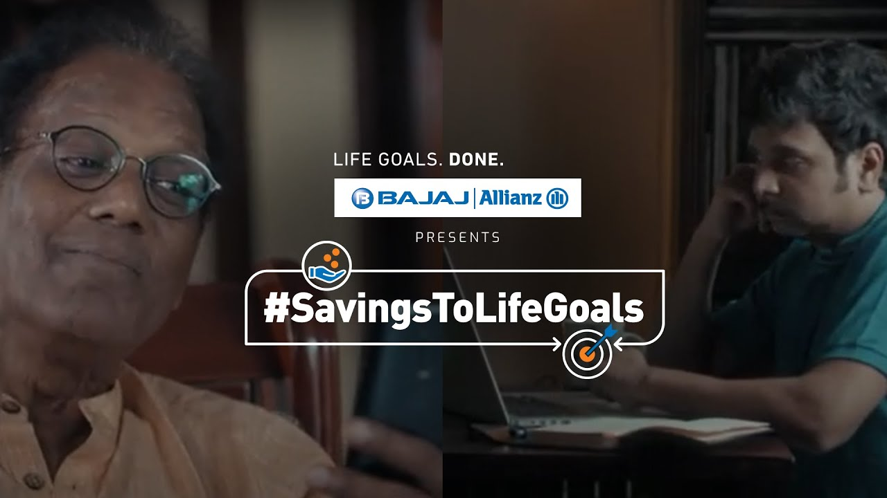Savings To Life Goals Converter By Bajaj Allianz Life | #SavingsToLifeGoals