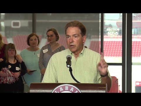 Nick Saban's speech at Walt Gary celebration of life