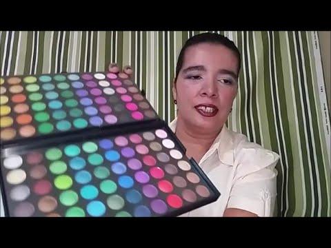 Compra e Encomendas que chegaram batom make paleta - Mensagem Feminina - By Dryka