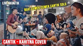 Cantik Kahitna - Lupa Lirik Live Akustik Di Solo