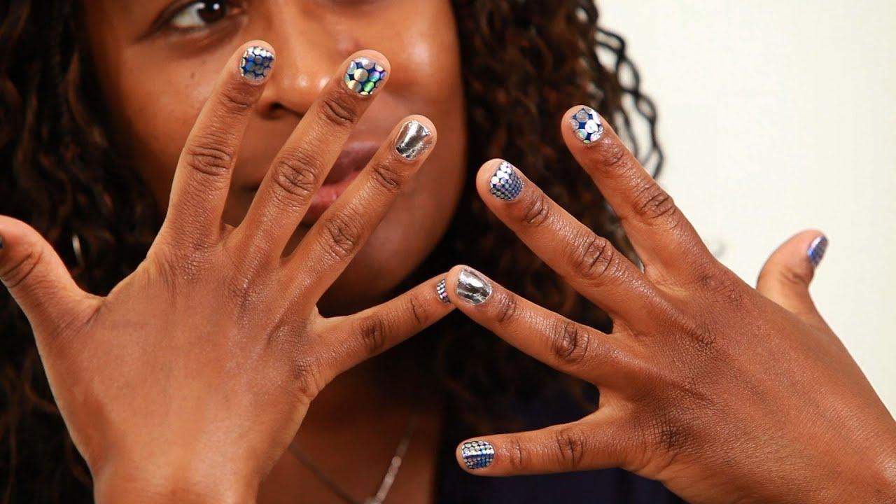 Minx Nail Stickers vs. Standard Nail Stickers - Howcast | The best ...