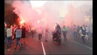 El regreso del futbol peruano sólo duró dos días, luego de que aficionados salieron a festejar a la calle
