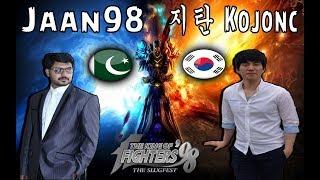 KOF 98 - Jaan98 (Pakistan) vs Kojonc 지탄 (South Korea) - FT 20 - 01-08-2018 - VERY HARD MATCH !!!