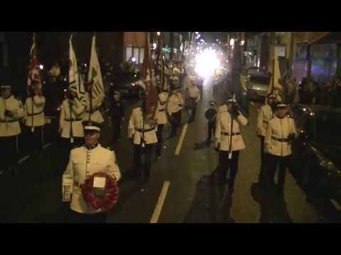 East Belfast Protestant Boys FB @  Joe long & James Cordner 40th anniversary Parade 2017