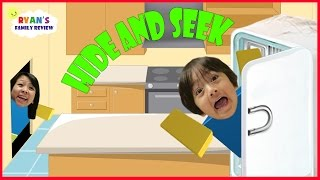 Soirée de jeu en famille! Let's Play Roblox Hide and Seek Extreme avec Ryan's Family Review