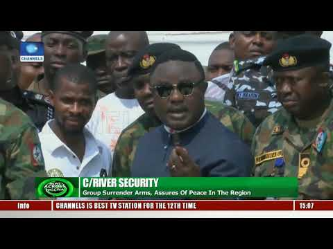 C/River Govt. Grants Amnesty To Militant Group Operating In Gulf Of Guinea