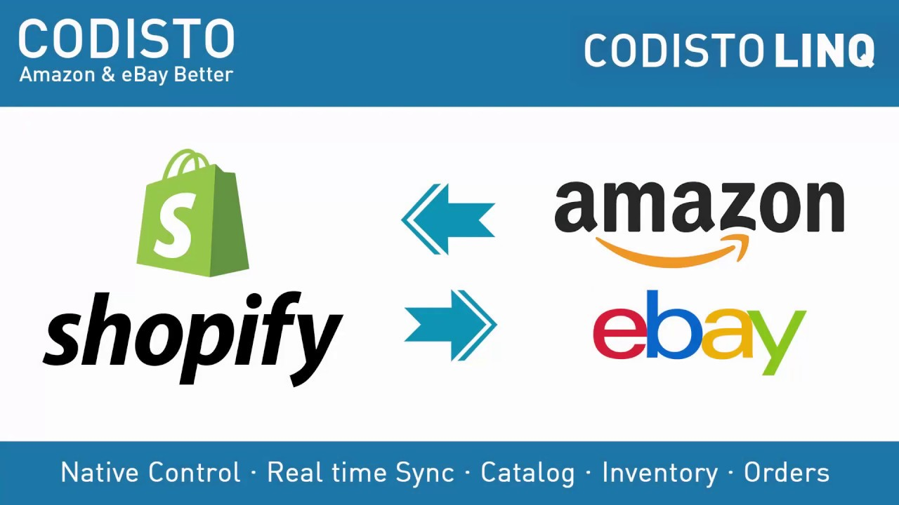 Amazon Ebay By Codisto Ecommerce Plugins For Online Stores Shopify App Store