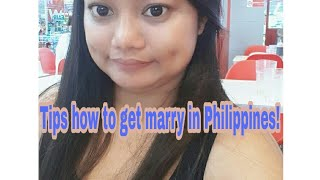 Pinay life with LDR/tips for marriage licence requirements!!