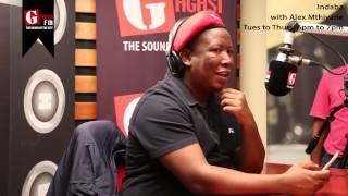 Repeat youtube video Julius Malema Interview with Alex Mthiyane