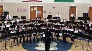 Advance Guard - SIS 7th Grade Band - 2014 Early Spring Concert