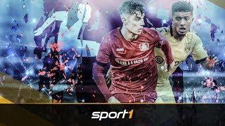 Sancho & Havertz bald weg? Verliert die Bundesliga ihre Mega-Talente | SPORT1 - TRANSFERMARKT-SHOW
