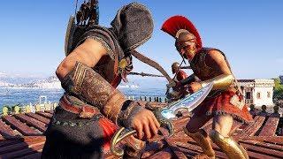 Assassin's Creed Odyssey Edge of Time Stealth Kills & Mercenary War Gameplay