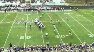 Albion College Football: Chris Greenwood career highlights