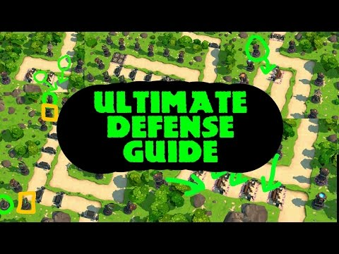 ROYAL REVOLT 2 - ULTIMATE DEFENSE GUIDE (every Path Length!)