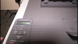 Brother HL-3140CW A4 Wireless Colour Laser Printer unpack