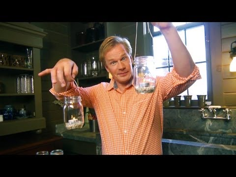 How to Make Mason Jar Lanterns | At Home With P. Allen Smith