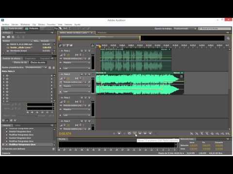 Agregar musica a tu voz en cuña de radio - ADOBE AUDITION
