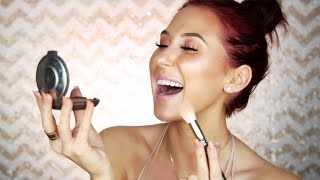 FULL FACE HIGHLIGHTER CHALLENGE | Jaclyn Hill