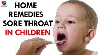 Home Reme Sore Throat Children