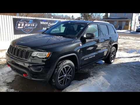 2018 Jeep Grand Cherokee Trailhawk >> 2018 Jeep Grand Cherokee Trailhawk - YouTube