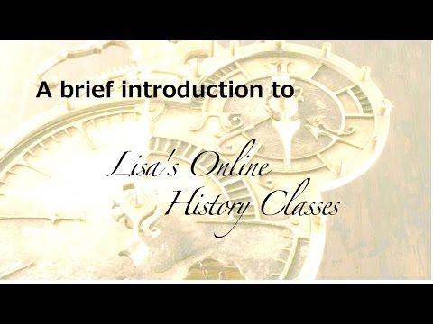 Lisa's Online History Classes