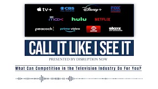 Call It Like I See It podcast: Ep7 short, How Streaming Helps You