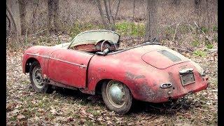 НЕОЖИДАННО! Порше 1957 года в лесу...УГАДАЙ ГДЕ ?!:)